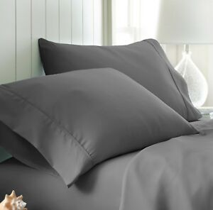Home Collection 2 Piece Pillow Case Set - Hotel Quality - 14 Colors!