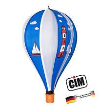 CIM Edelstahl Windspiel Segelboot 180 Garten-Deko Metall Ø18cm Deko Yacht See