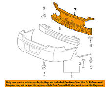 Chevrolet GM OEM 06-13 Impala Bumper Face-Foam Impact Absorber Bar 20759789
