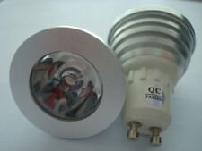 Lampe LED culot GU10, 230V, 1W, 4200°K, 10°, ø50