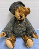 Reverie-BEARLY THERE Mohair Bear by Linda Spiegel /Hang tag &Sewn in Tag