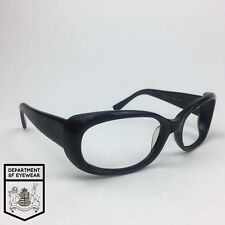 OLIVER PEOPLES eyeglass BLACK WRAP AROUND frame Authentic.MOD: PHOEBE