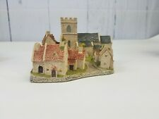 Cotswold Village by David Winter 1982 with box & Coa Hand Made Hand Painted