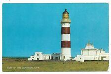 ISLE OF MAN - POINT OF AYRE LIGHTHOUSE Salmon Postcard