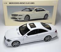 Mercedes-Benz CL 63 CL63 AMG C216 white white blanc bianco AUTOart 76167 1:18