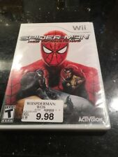 Spider-Man: Web of Shadows - Nintendo Wii  Brand New Factory Sealed