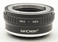 K&F Concept M42 - NEX Lens Mount Adapter Objektivadapter -- M42 an Sony NEX