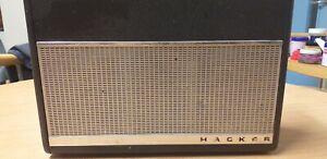Vintage Hacker RP-38 Portable Radio