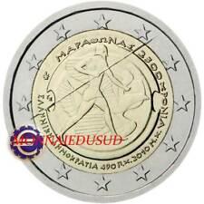 2 Euro Commémorative Grèce 2010 - Bataille de Marathon