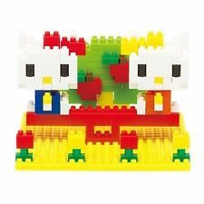 NANOBLOCK Kitty Mimmy Nakayosh Park Nano Block MicroSized Building Blocks NBH056