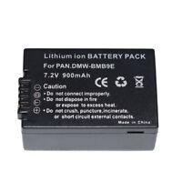 Battery for Panasonic DMW-BMB9 DMW-BMB9E DMW-BMB9GK DMW-BMB9PP DE-A84B DMW-BTC4