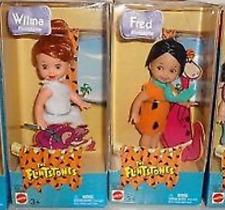 Kelly Dolls as the Flintstones Fred & Wilma Flintstone Mint NEW IN BOX
