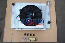 3ROW ALLOY RADIATOR&Shroud&Fan HOLDEN COMMODORE VB VC VH VK L6 2.85L 3.3L MANUAL