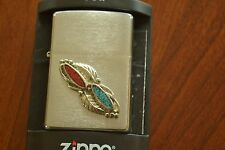 ZIPPO Lighter, Feather Stone - 20808, 2004, Sealed, M624