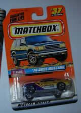 Matchbox 1970 Ford Boss 302 Mustang, new in bubble pack