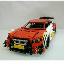 BMW-M4 DTM - SHELL compatibile LEGO Technic MOC-4142 Building Blocks NUOVO