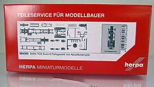 Herpa LKW  084260  LKW-Fahrgestell MAN TGX Euro 6 mit Abrollkinematik 2 Stück