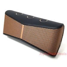 Logitech X300 Speaker Mobile Wireless Bluetooth Stereo Portable Black Brown Mini