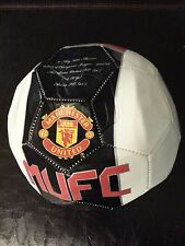 Manchester United England Red Devils Official Soccer Ball Futbol Size 5