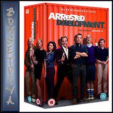 ARRESTED DEVELOPMENT - COMPLETE SERIES SEASONS 1 2 3 & 4  **BRAND NEW DVD BOXSET