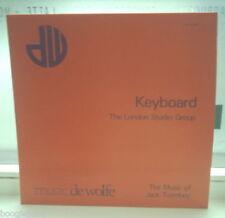 JACK TROMBEY KEYBOARD DE WOLFE LIBRARY LP 1968 JAZZ PIANO LATIN BOSSA LISTEN
