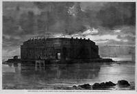 FORT LAFAYETTE NEW YORK HARBOR, POLITICAL PRISONERS