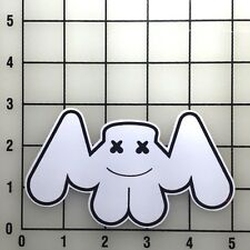 "Marshmello Music 5"" Wide Color Vinyl Decal Sticker - BOGO"