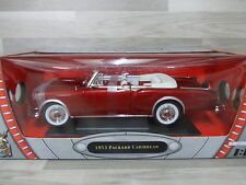 Road Signature Col 1/18 - Packard Caribbean 1953 cabrio