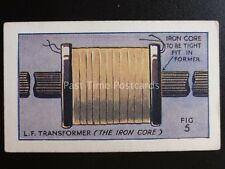 No.39 L.F. TRANSFORMER How to Make a Valve Amplifier by Godfrey Phillips 1924