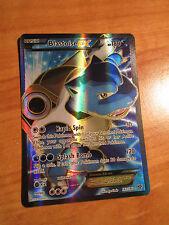 PL FULL ART Pokemon BLASTOISE EX Card BASE XY Set 142/146 Ultra Rare X and Y TCG