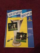 Signed - Micky Hazard - Tottenham Hotspur V Bohemians Prague - 28-11-1984
