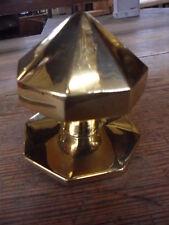 antique style brass centre doorknob pull knob for large entrance doors  pb12B