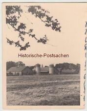 (F12476) Orig. Foto markanter Gebäudekomplex mit 2 Türmen, Haste (NS) 1942