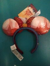 Minnie Mouse Main Attraction Big Thunder Mountain Headband Ears In Hand ready
