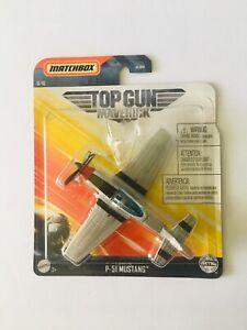 Matchbox Top Gun Maverick Skybusters P-51 Mustang - 6/16 New - Mattel