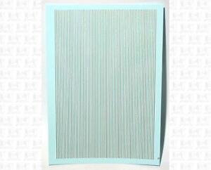 K4 HO Decals Gold 1/64 Inch Stripes Set
