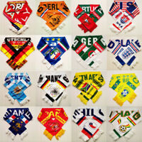 Soccer Club Team Scarfs UEFA EURO 2020 scarves Souveni Neckerchief Games