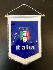 ITALY/ ITALIA Pennant (31x 21cm) Soccer Team Flag Great For Bar / Home /Office
