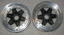 Jongbloed 202 Pin Drive Split Rim 3-Pc Wheel Pr (2) 13x6 Motorsport Vintage Race