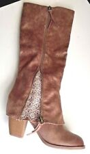 Not Rated Spiffy Tall Boot Size 10 (M) US Taupe Boots NEW