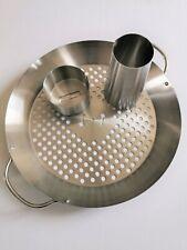 More details for mokutan large chicken/vegetable rack stand sitter for kamado grill kettle bbqs