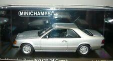 Minichamps 400037021, Mercedes-Benz 300 CE-24 Coupé, 1990, silber, 1/43, NEU&OVP