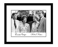 Ronald Reagan 8x10 photo Richard Nixon Signed autographed print US president