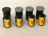 Kodak Lot of 4 35mm Rolls Color Film Expired Mixed MAX 400 800 Zoom 24 36 Exp