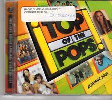 (EU523) Top Of The Pops: Autumn 2001, 40 tracks various artists - 2001 CD