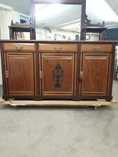 Antique sideboard buffet cabinet modernized