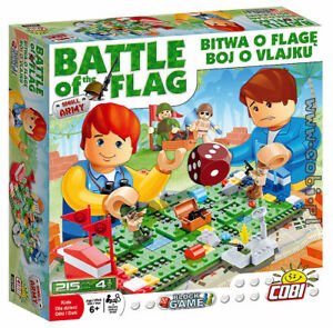Battle Of The Flag Block Game Cobi 215 Construction Bricks Set Brand New