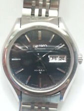 King Seiko 5626-7120 Navy Good Condition w/KS belt VG