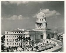 HAVANA c. 1950 - Place Le Capitol  Cuba - Ph. Galloway - GF 517