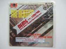 THE BEATLES 1963 PLEASE PLEASE ME  GOLD PARLOPHONE  IN  NEMS  BAG